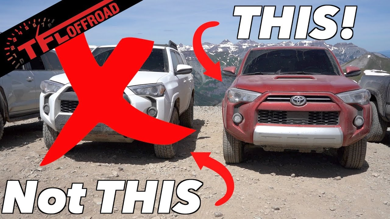 4Runner Trd Pro >> Here's Why You SHOULD Buy A 2020 Toyota 4Runner TRD Off-Road! - YouTube