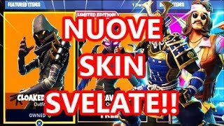 NUOVE SKIN SVELATE DI FORTNITE - Ravage, Cloaked Star, Scorpion, Armadillo