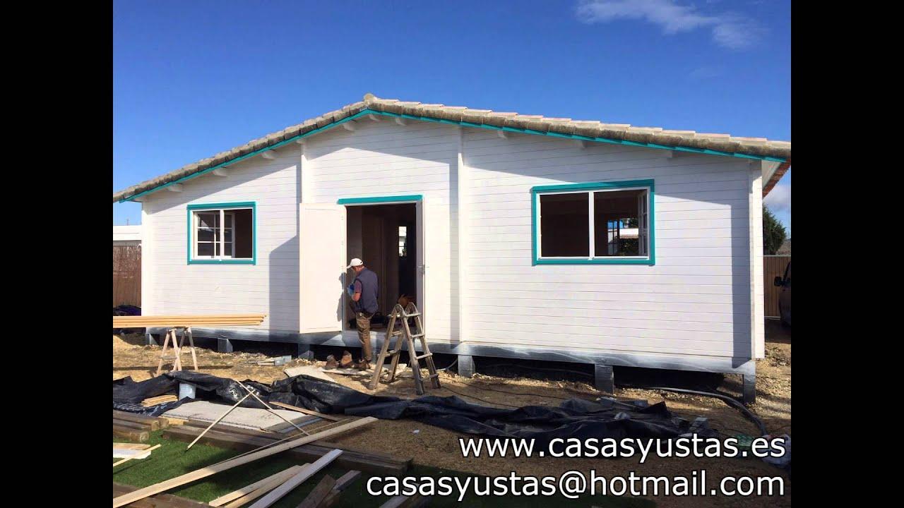 Montaje casa de madera por casasyustas youtube - Youtube casas de madera ...