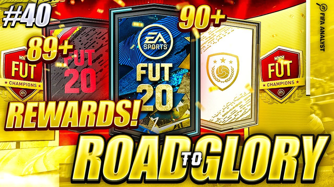 FIFA 20 ICON PACK, 89+ PACK, 90+ PACK & FUT CHAMPS REWARDS! FIFA 20 PACK OPENING   ROAD TO GLORY #40