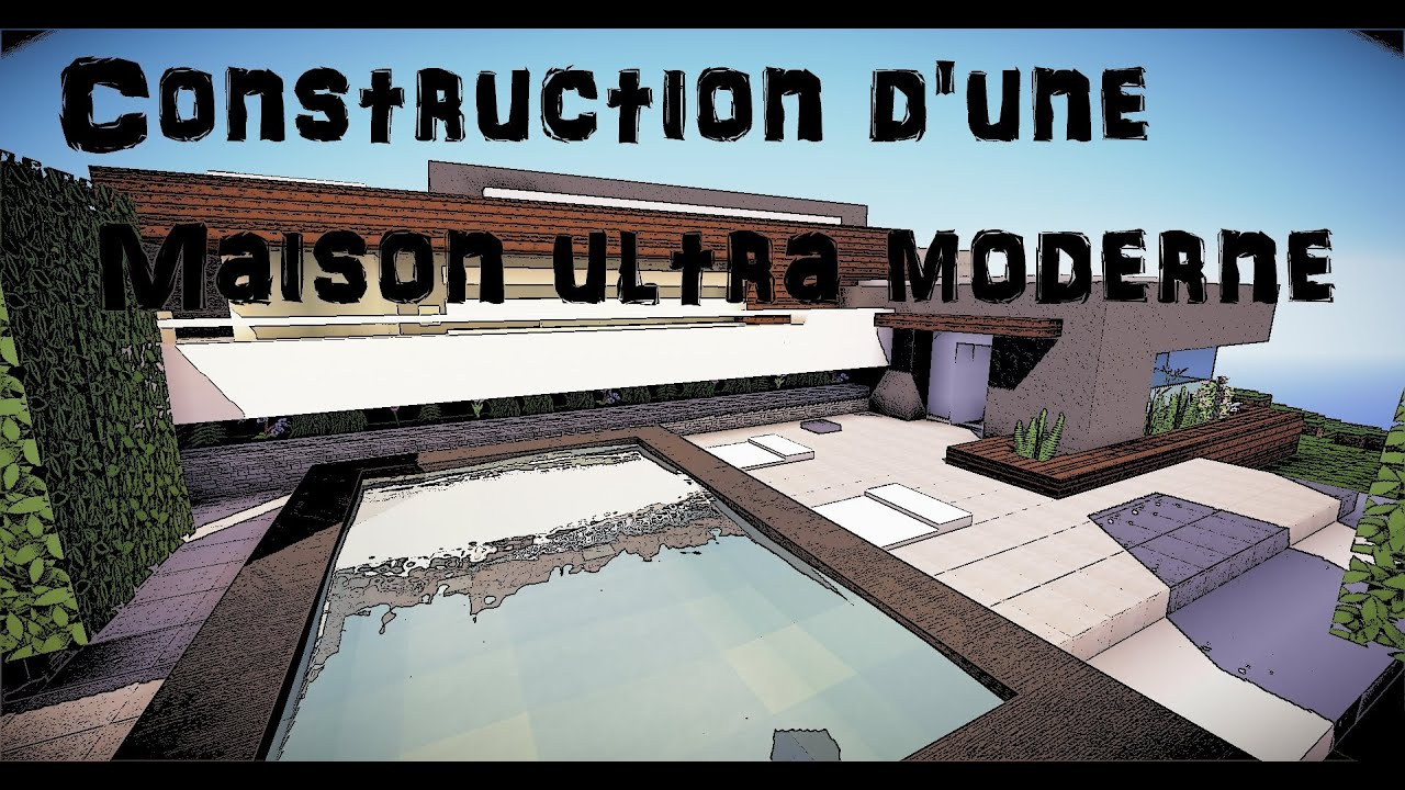 Map Minecraft Maison Moderne Lv43 Humatraffin
