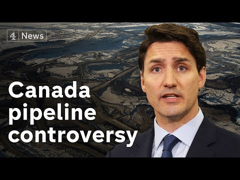 Trudeau To Decide On Canada Pipeline Labelled 'most Destructive Industrial Project In Human History'