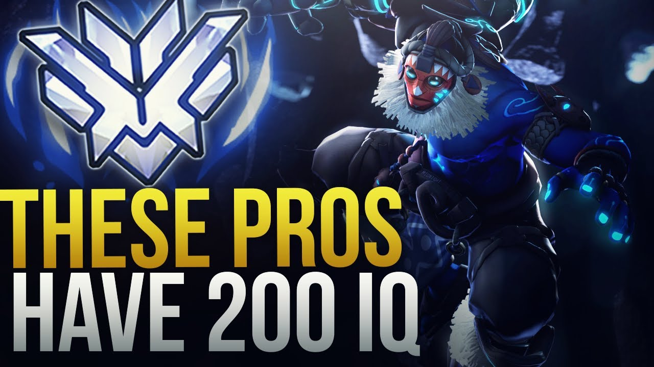 WHEN PROS ACTUALLY MAKE 200 IQ PLAYS - Overwatch Montage thumbnail