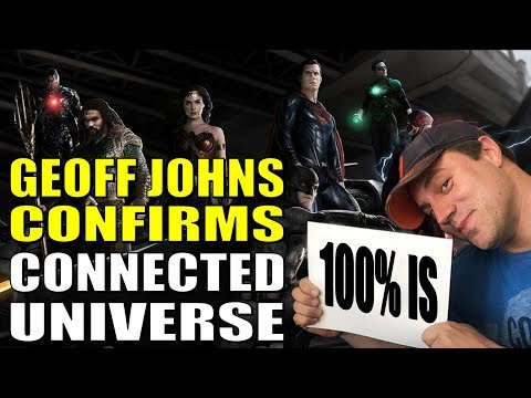Geoff Johns CONFIRMS Connected DC Universe!