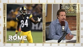 Jim Rome gives his take on the Pittsburgh Steelers trading wide receiver Antonio Brown to the Raiders. SUBSCRIBE TO OUR PAGE: ...