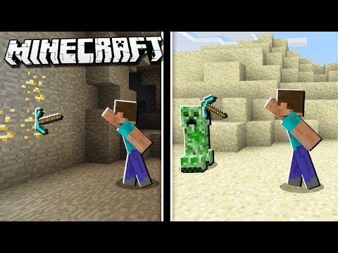 How To THROW YOUR PICKAXE In Minecraft!