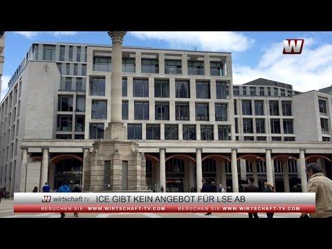 Intercontinental Exchange gibt kein Angebot für Londoner Börse ab
