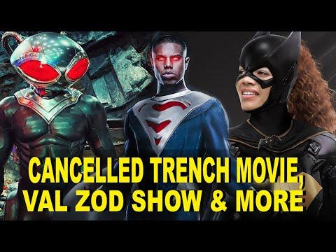 Michael B Jordan's Val Zod Show, Black Manta Movie CANCELLED & MORE!!