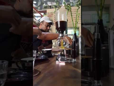 Siphon Coffee @ Raw Coffee Company Dubai