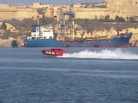 malta grand harbour power boats sprints.mpg