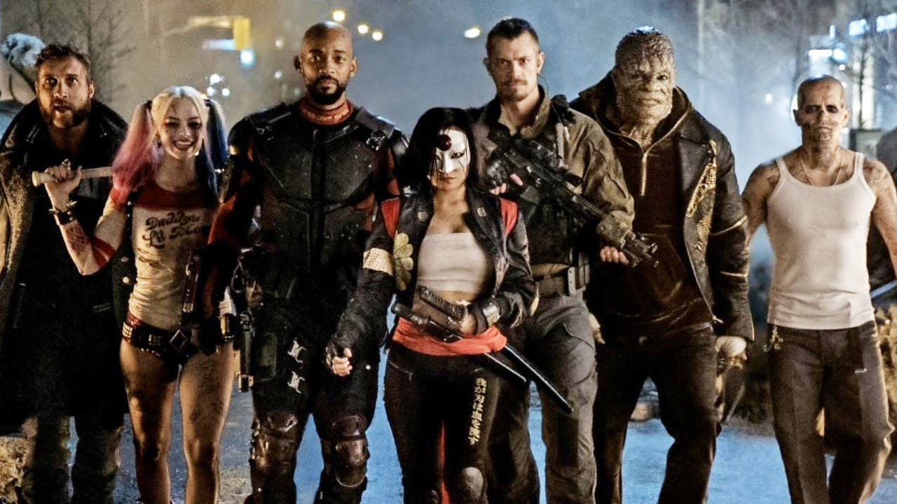 New Suicide Squad Pics amp Character Descriptions YouTube