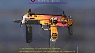 SOUVENIR MP7 | Fade,FACTORY NEW FROM THE FIRST CASE | EZ 600 €