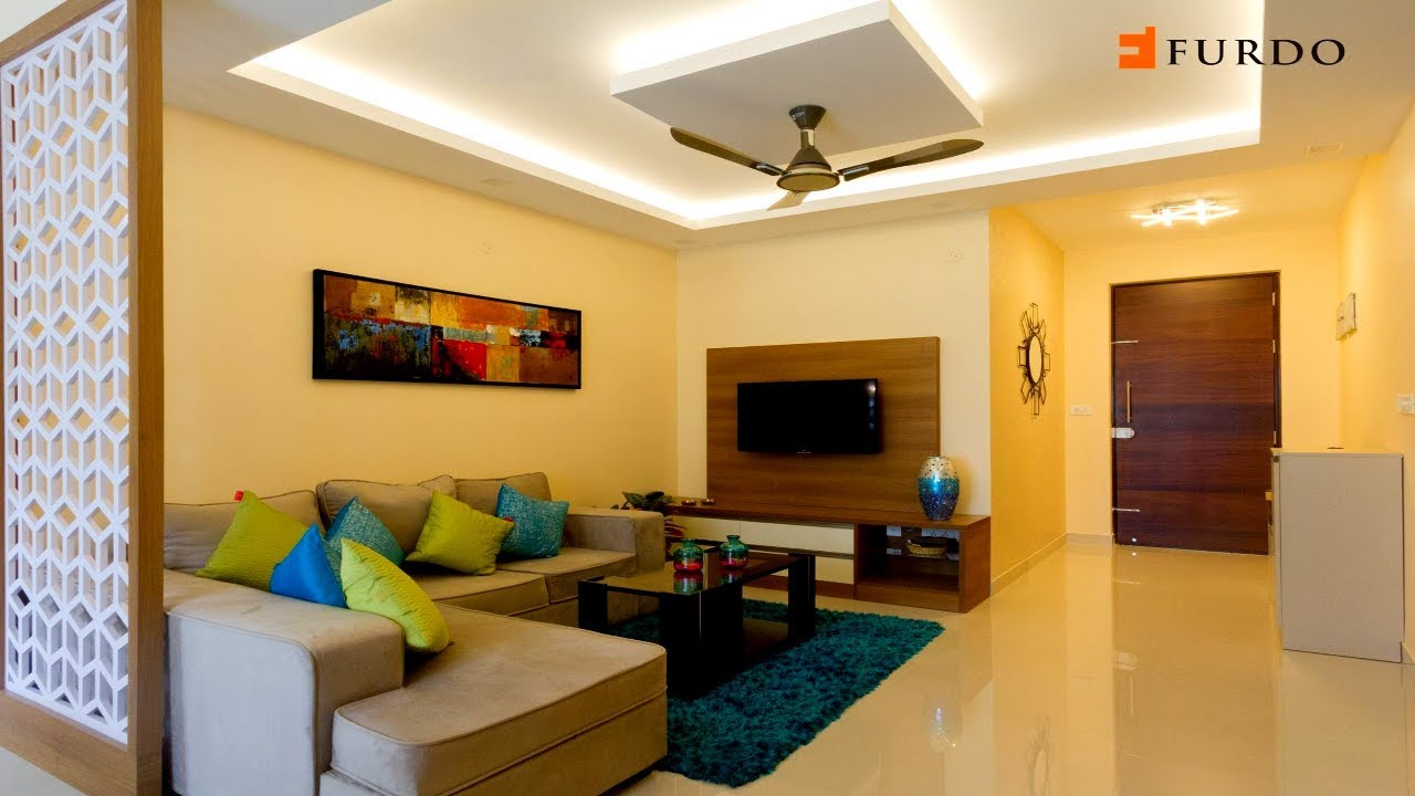 Interior Design In Bangalore 3 Bhk Apartment Interior Design Klassik Landmark Furdo Design Youtube