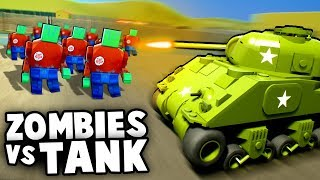 Epic LEGO TANKS vs Zombie Invasion Horde! NEW UPDATE (Brick Rigs Gameplay)