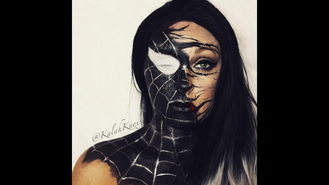 How to- Spiderman Venom tutorial - SDEVENTSWORLD Golden ...