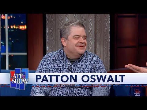 "Patton Oswalt Is Shocked When Stephen Colbert Tells Him To Skip ""The Hobbit"""