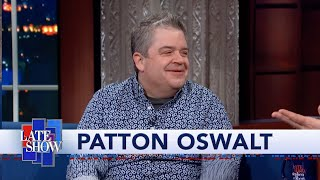 Patton Oswalt Is Shocked When Stephen Colbert Tells Him To Skip 'The Hobbit'
