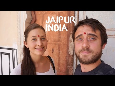 Jaipur - Amber Fort & Hawa Mahal (Travel Vlog)