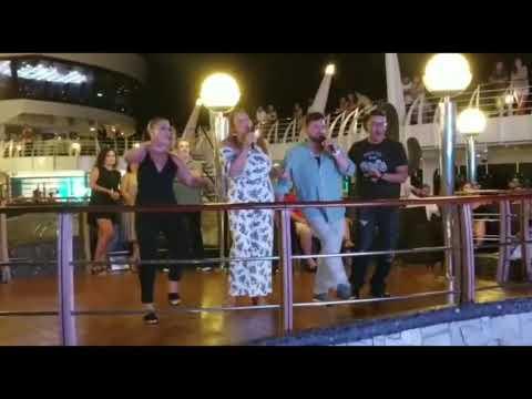 Msc divina cruise karaoke Sept 2017