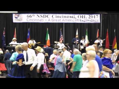 2017 National Square Dance Convention - Jeremy Butler calling Amarillo By Morning