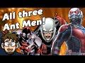 EVERY Ant Man Origin History Explained Comic Drake