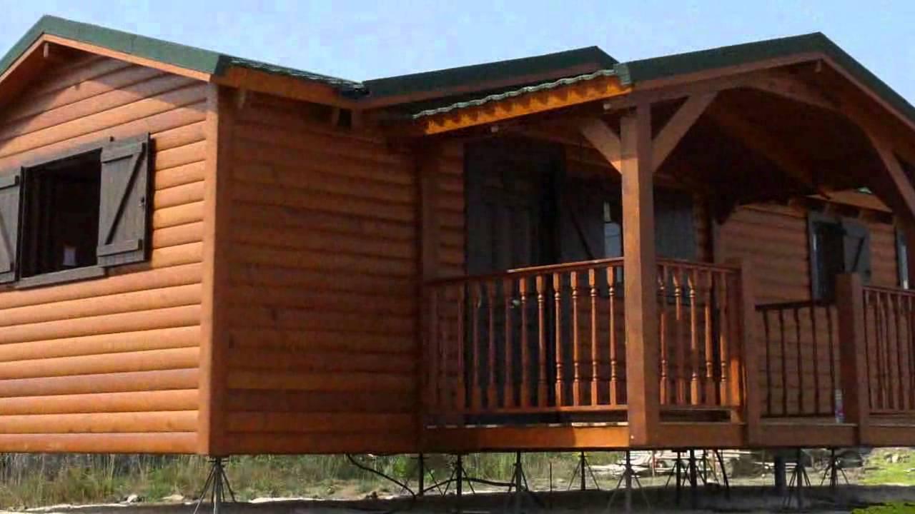 Venta de casas prefabricadas en alcoy murcia granada y madrid youtube - Casas modulares madrid ...