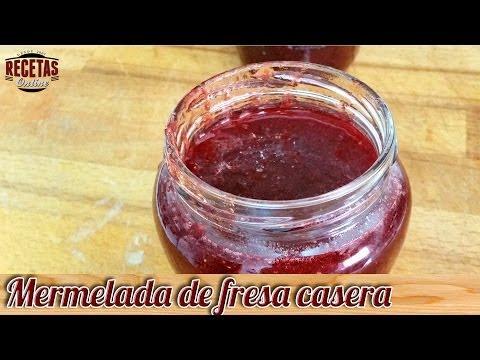 Mermelada de fresa casera - Recetas de cocina