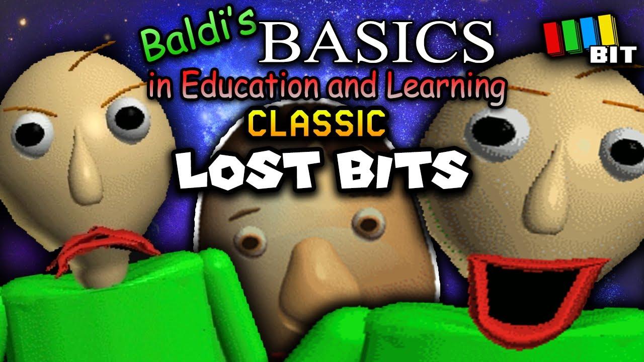 Baldi's Basics Classic LOST BITS (ft. The Developer!) | Unused Content [TetraBitGaming]