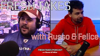 The big football preseason special .::. Fresh Takes with Russo & Felice 8/21/18
