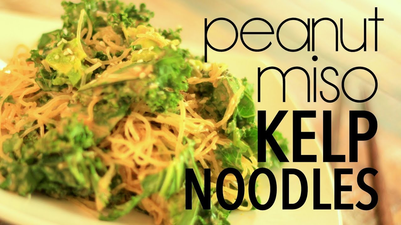 how to make kelp noodles