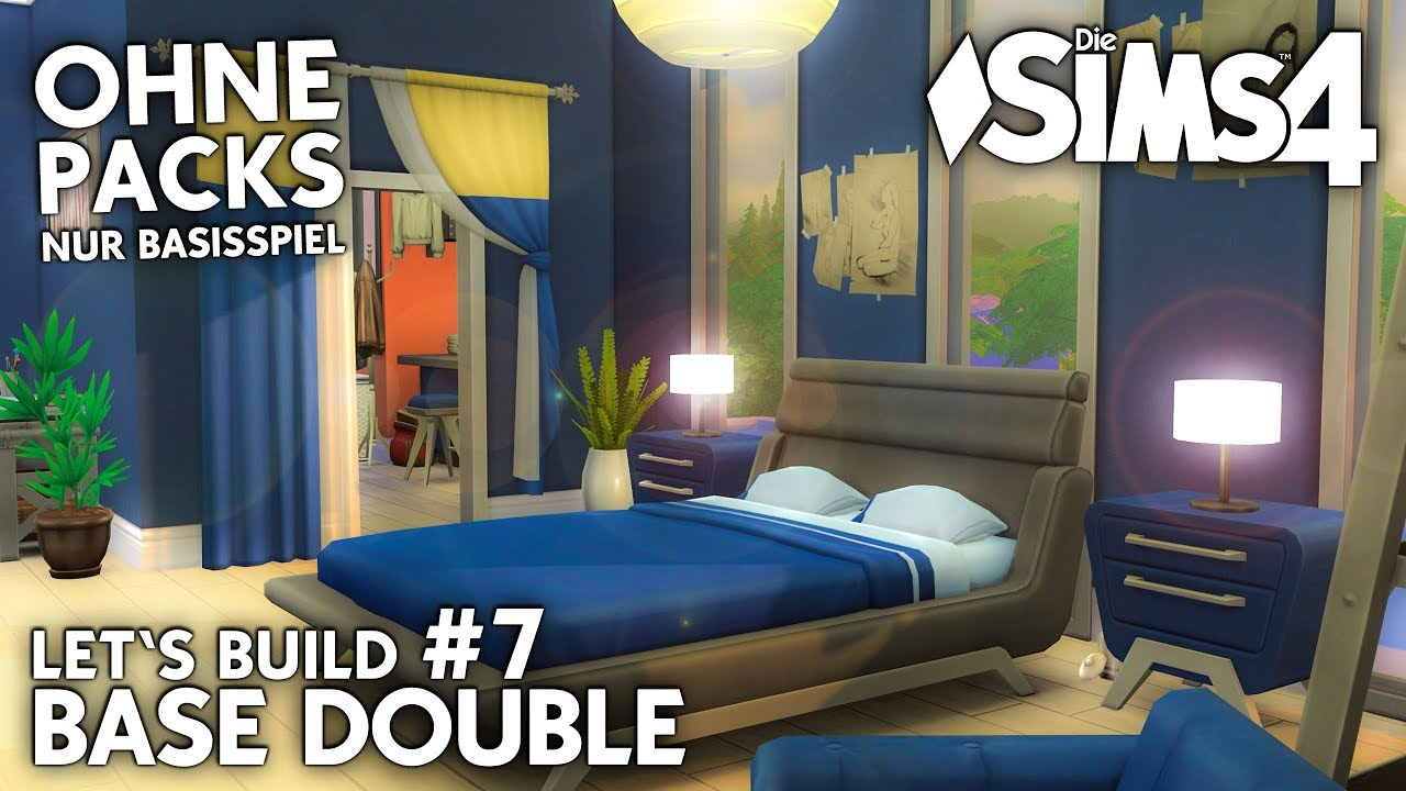 Die Sims 4 Doppelhaus bauen ohne Packs | Base Double #7 ...