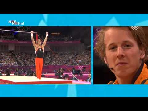 London Olympics 2012 - Epke Zonderland Looks At His Own Performance