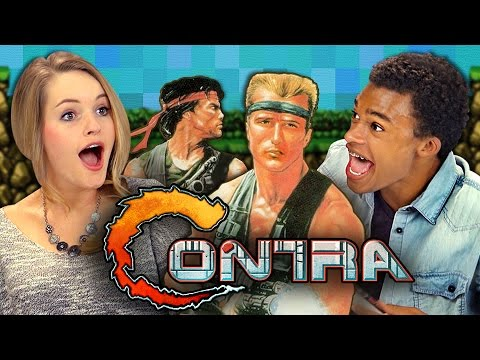 CONTRA (NINTENDO) (React: Retro Gaming)