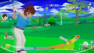 We Love Golf! Nintendo Wii Video - Target practice
