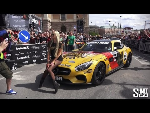 The Complete Start of the 2015 Gumball 3000 Supercar Rally