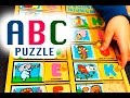 Learn the alphabet and new words with the ABC wooden puzzle.