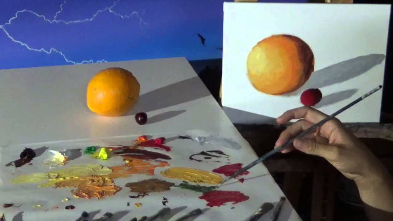 How to Paint a Still Life in Oil - YouTube
