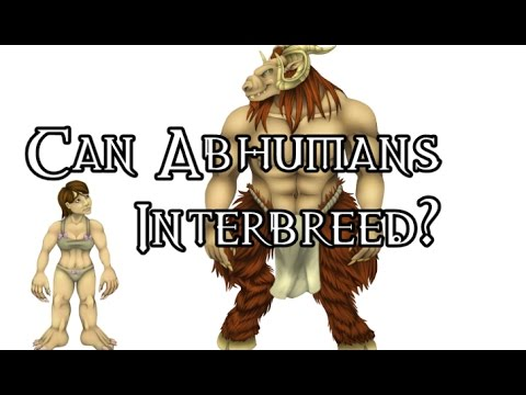 Can Abhumans Interbreed 40k Theories Youtube