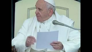 教宗方济各向中国天主教徒表示敬意