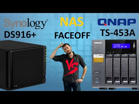 The Synology DS916+ versus The QNAP TS-453A - The 4-Bay NAS Brand Comparison