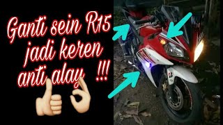 Lampu Sein Motor Yamaha R15 Model Tempel Terlihat Lebih Keren Anti Alay