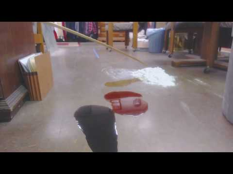 Video 3  clean up in seconds, used motor oil, transmission fluid, and antifreeze