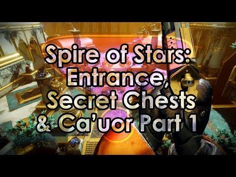 Destiny 2: Spire of Stars Raid Guide - Entrance, Secret Chests, Val Ca'uor Part 1