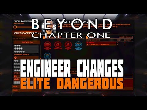 Elite Dangerous Beyond - How the Engineer Changes Work plus New Ship Voices