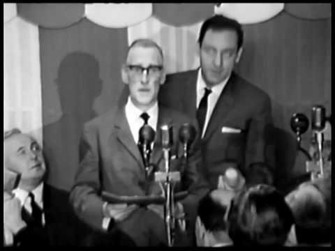 Variety Club Annual Awards For 1963  Wilfrid Brambell & Harry H Corbett
