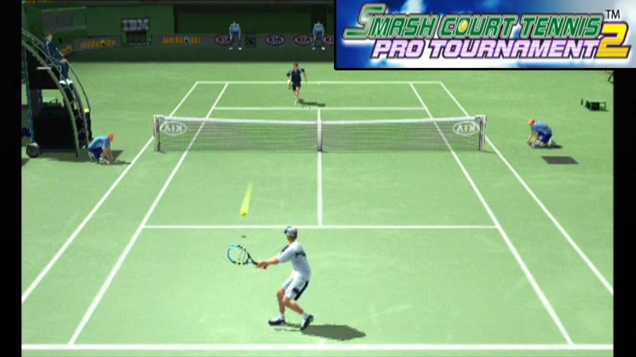 Smash Court Tennis Pro Tournament 2 ... (PS2) Gameplay - YouTube