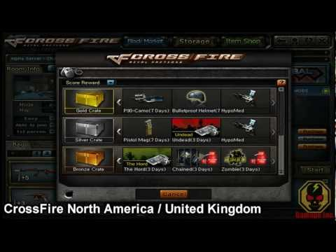 CrossFire - Zombie Mode (AI) Prizes [Various Versions]!