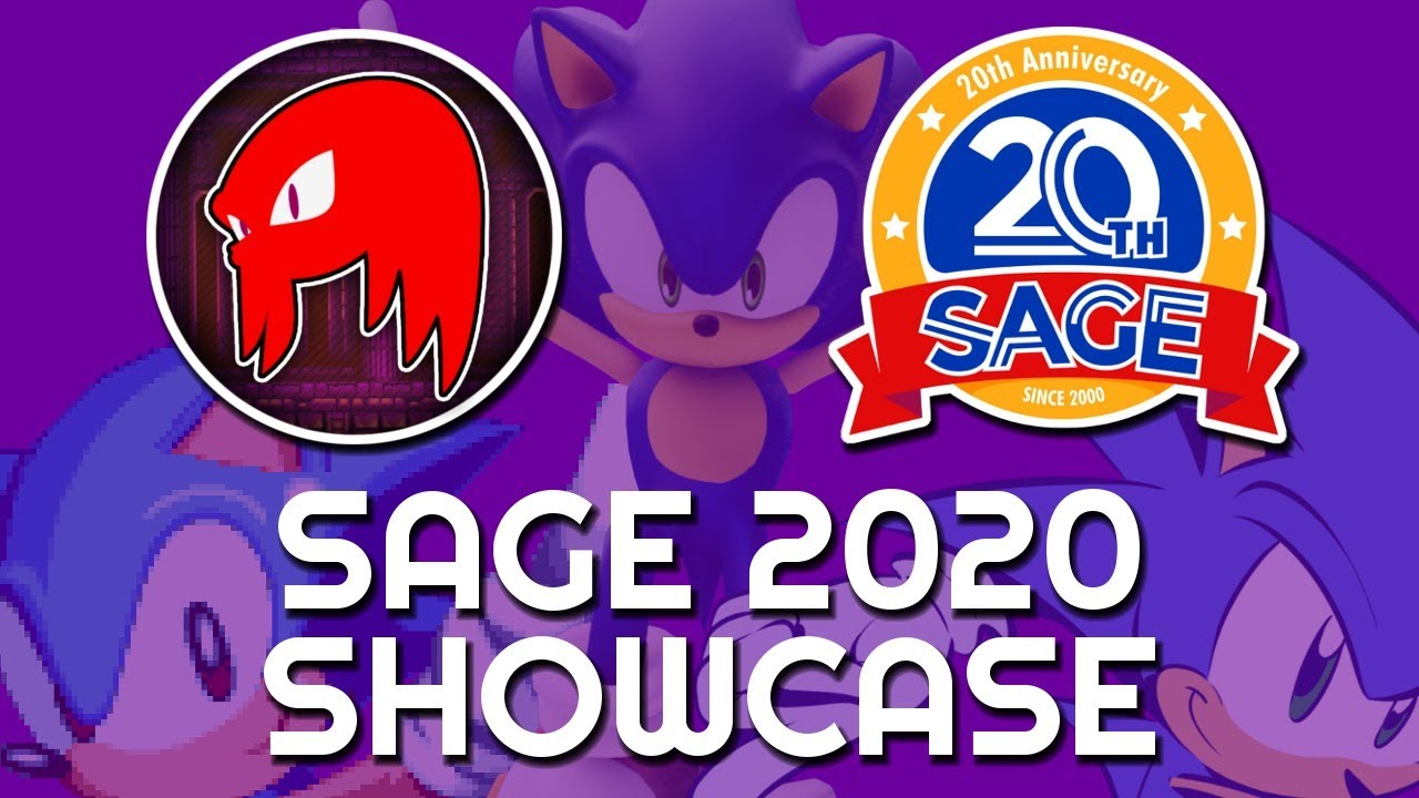 SAGE 2020 Sonic Fan Game & Mania Plus Mod Showcase!