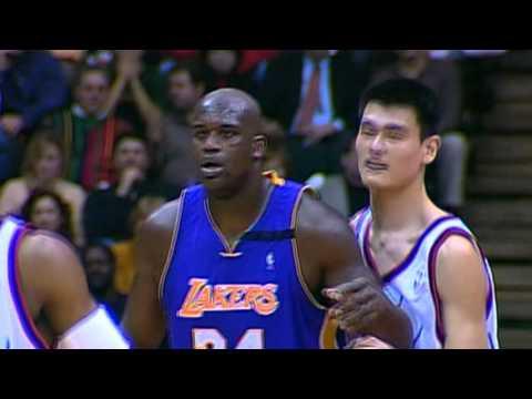 Centers of the Universe: Yao vs Shaq