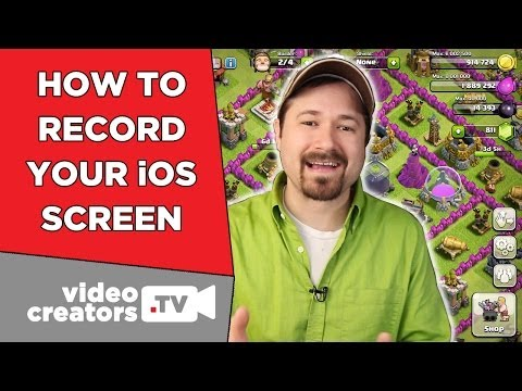 How To Record your iPad or iPhone Screen on iOS